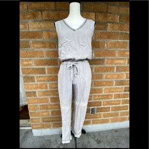 Cloth and stone grey washed jumpsuit xs
